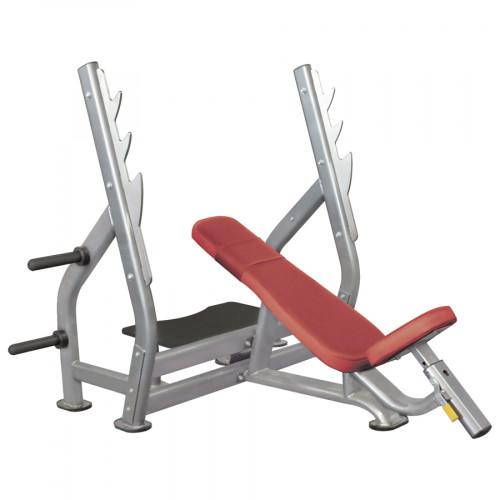 IT7015 - Наклонная скамья для жима лежа со стойками